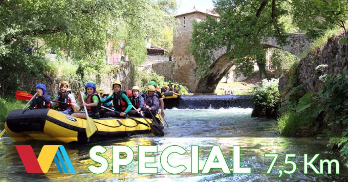 Rafting Special: discesa rafting lunga 7,5 km sul fiume Aniene